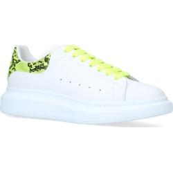 Alexander McQueen Snakeskin Trim Show Sneakers found on Bargain Bro UK from harrods.com