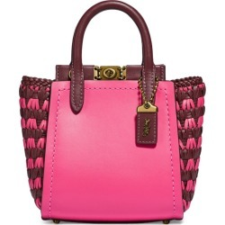 Coach Leather Woven-Panels Troupe 16 Tote Bag found on GamingScroll.com from Harrods Asia-Pacific for $735.05