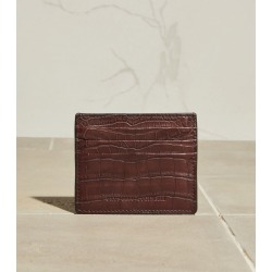 Brunello Cucinelli Croc-Embossed Leather Card Holder found on GamingScroll.com from Harrods Asia-Pacific for $2403.50