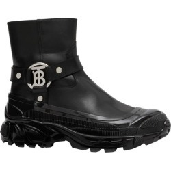Burberry Leather TB Monogram Buckle Boots found on Bargain Bro UK from harrods.com