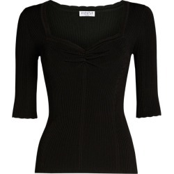 Claudie Pierlot Ribbed Top found on GamingScroll.com from Harrods Asia-Pacific for $145.45