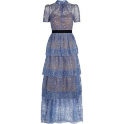 Self-Portrait Tiered Maxi Dress found on MODAPINS from harrods.com for USD $619.16