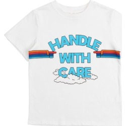 Stella McCartney Kids Handle With Care T-Shirt (2-12 Years) found on Bargain Bro UK from harrods.com