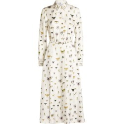 Gabriela Hearst Mariano Print Midi Dress found on MODAPINS from Harrods Asia-Pacific for USD $2013.59