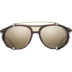 Matsuda Detachable Side Shield Aviator Sunglasses found on MODAPINS from harrods.com for USD $1231.04