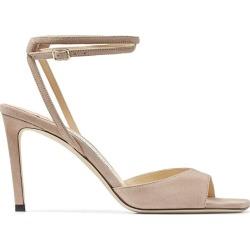Jimmy Choo Mori 85 Suede Sandals