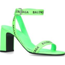 Balenciaga Logo Strap Sandals 110 found on Bargain Bro UK from harrods.com