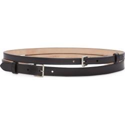 Alexander McQueen Leather Double Belt found on Bargain Bro UK from harrods.com