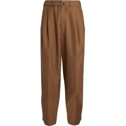 Lemaire Belted Pleat Trousers found on MODAPINS from harrods.com for USD $614.23