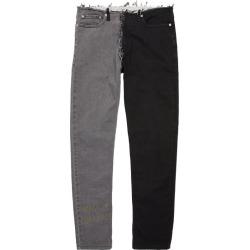 Maison Margiela Two-Tone Slim Jeans found on Bargain Bro UK from harrods.com
