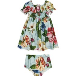 Dolce & Gabbana Kids Floral Smock Dress and Bloomers (3-30 Months) found on Bargain Bro UK from harrods.com