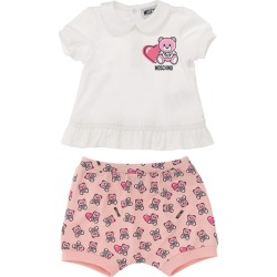 Moschino Kids Teddy Bear Shirt and Shorts Set (2-24 Months) found on Bargain Bro UK from harrods.com