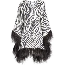 Halpern Zebra Print Mini Kaftan Dress found on MODAPINS from harrods.com for USD $1293.12