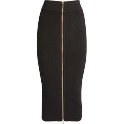 Balmain Diamond-Knit Zip Midi Skirt found on Bargain Bro UK from harrods.com