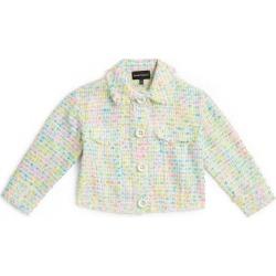 Emporio Armani Kids Tweed Jacket (4-14 Years) found on Bargain Bro UK from harrods.com