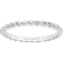 Boucheron White Gold Serpent Bohème Wedding Band found on MODAPINS from harrods.com for USD $1106.09