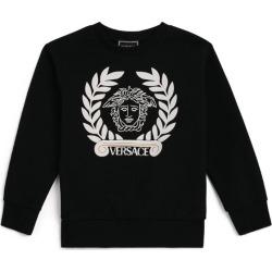 Young Versace Medusa Head Sweatshirt found on Bargain Bro UK from harrods.com