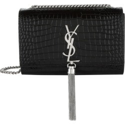 Saint Laurent Small Kate Tassel Croc-Embossed Shoulder Bag found on GamingScroll.com from Harrods Asia-Pacific for $2164.88