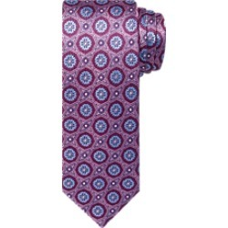 Reserve Collection Woven Rounded Medallion Tie - Long CLEARANCE found on Bargain Bro India from Jos. A. Bank for $41.98