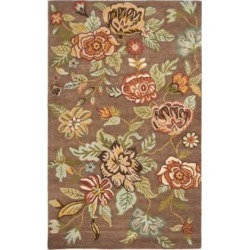 Safavieh Blossom BLM920A Collection 4'x6' Area Rug (W1545) found on Bargain Bro from Lamps Plus for USD $127.68
