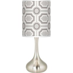 Luxe Tile Giclee Droplet Table Lamp (27P67) found on Bargain Bro India from Lamps Plus for $89.99