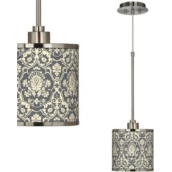Seedling by thomaspaul Damask Mini Pendant Light (28C41) found on Bargain Bro Philippines from Lamps Plus for $129.99