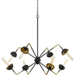 "Ravenna 40"" Wide Blacksmith 8-Light Sputnik Chandelier (97A04)"