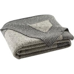 Safavieh Dania Gray Knit Throw Blanket (60M58) found on Bargain Bro India from Lamps Plus for $79.91