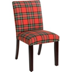 Main Street Ancient Stewart Red Fabric Dining Chair (12T06) found on Bargain Bro India from Lamps Plus for $189.91