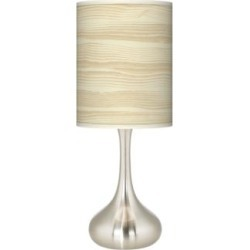Birch Blonde Giclee Droplet Table Lamp (27P73) found on Bargain Bro India from Lamps Plus for $89.99