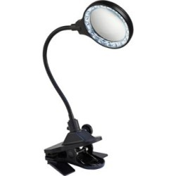 LED Gooseneck Clip Light with Magnifier Lens (R3986) found on Bargain Bro Philippines from Lamps Plus for $24.98