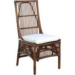 Panama Jack Bora Bora Cushioned Rattan Side Chair (7V127) found on Bargain Bro India from Lamps Plus for $220.91