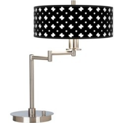 Crossroads Giclee CFL Swing Arm Desk Lamp (083C0) found on Bargain Bro from Lamps Plus for USD $113.99