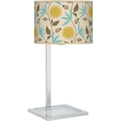 Dahlia Glass Inset Table Lamp (27V66) found on Bargain Bro India from Lamps Plus for $99.99