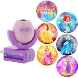 Projectables Disney Princess 6-Image Plug-In LED Night Light (82F77) found on Bargain Bro Philippines from Lamps Plus for $13.99