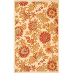 Safavieh Blossom BLM912B Collection 5'x8' Area Rug (W1539) found on Bargain Bro from Lamps Plus for USD $212.80