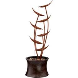 Tiered Copper Leaves Indoor Outdoor 41