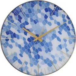 Tahlia Geometric Blue 17 3/4