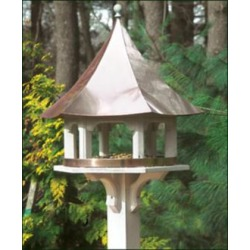 Good Directions Lazy Hill Carousel Copper Bird Feeder (7H171)