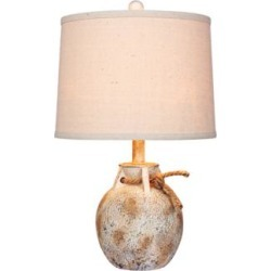 Layla Antique White Jug Accent Table Lamp (47R95) found on Bargain Bro India from Lamps Plus for $75.99