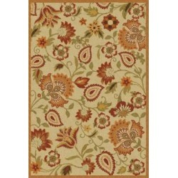 Safavieh Blossom BLM862A Collection 4'x6' Area Rug (W1403) found on Bargain Bro from Lamps Plus for USD $127.68