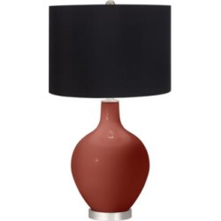 Madeira Ovo Table Lamp by Color Plus with Black Shade (92C77)