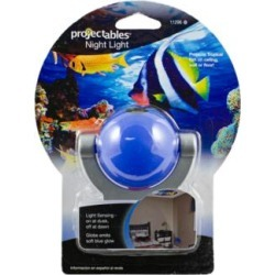 Projectable Blue Fish LED Night Light (9G195) found on Bargain Bro Philippines from Lamps Plus for $10.99