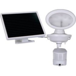 """6"""" High White Solar LED Security Video Camera and Spotlight (89R61)"""