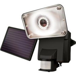 Solar Powered LED Floodlight with Security Camera (1F754)