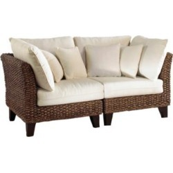 Panama Jack Sanibel Rattan 2-Piece Loveseat Set w/ Cushions (69M89) found on Bargain Bro India from Lamps Plus for $1399.91