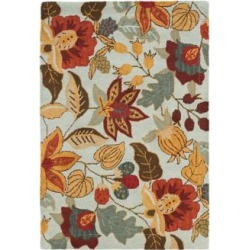 Safavieh Blossom BLM863A Collection 8'x10' Area Rug (W1418) found on Bargain Bro from Lamps Plus for USD $425.60