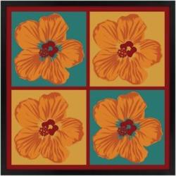 Orange Hibiscus 31