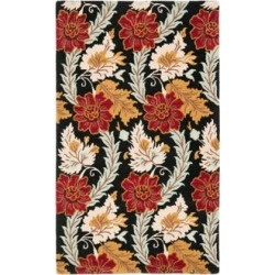 Safavieh Blossom BLM921A Collection 4'x6' Area Rug (W1555) found on Bargain Bro from Lamps Plus for USD $127.68