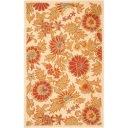 Safavieh Blossom BLM912B Collection 8'x10' Area Rug (W1540) found on Bargain Bro from Lamps Plus for USD $425.60